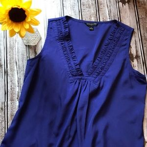 Banana Republic cobalt blue tank